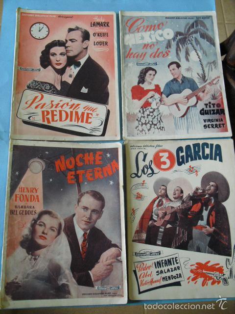 Cine: 12 novelas de grandes peliculas, ediciones biblioteca films, serie alfa, de editorial alas, - Foto 2 - 56299271