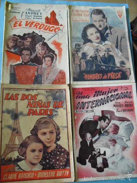 Cine: 12 novelas de grandes peliculas, ediciones biblioteca films, serie alfa, de editorial alas, - Foto 3 - 56299271