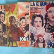 Cine: 4 NOVELAS CINE ESPAÑOL,DE EDICIONES BISTAGNE, CON 16 POTOS CADA NOVELA DE LA PELICULA. Lote 56299924