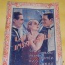 Cine: SELECCION FILMS DE AMOR - LA INSACIABLE - CAROLE LOMBARD RICARDO CORTEZ PAUL LUKAS - AÑOS 30. Lote 56737822