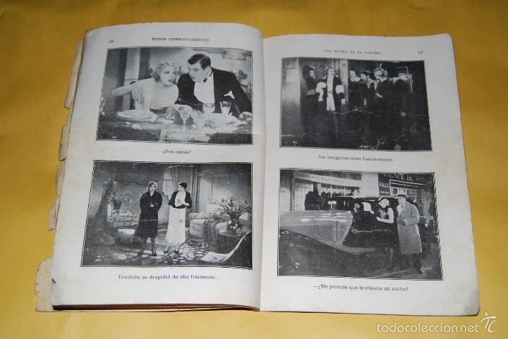Cine: EXITOS CINEMATOGRAFICOS - UNA NOCHE EN EL PARAISO - ANNY ONDRA - EDICIONES BISTAGNE AÑOS 30 - Foto 5 - 56743816