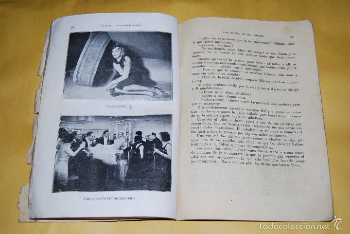 Cine: EXITOS CINEMATOGRAFICOS - UNA NOCHE EN EL PARAISO - ANNY ONDRA - EDICIONES BISTAGNE AÑOS 30 - Foto 6 - 56743816