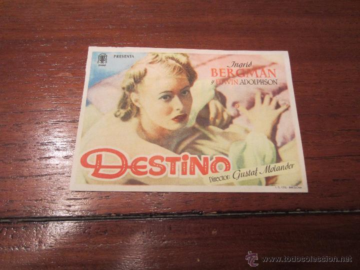 DESTINO INGRID BERGMAN (Cine - Foto-Films y Cine-Novelas)
