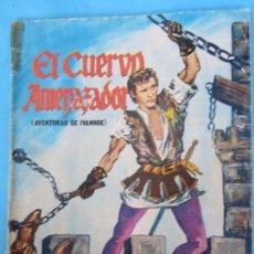 Cine: EL CUERVO AMENAZADOR , NUMERO 5 , AVENTURAS DE IVANHOE , FOTONOVELA DE ROGER MOORE , EL SANTO ,. Lote 58272429