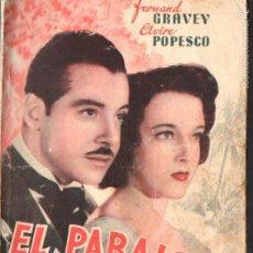 Cine: GRAVEY / POPESCU : EL PARAÍSO PERDIDO. Lote 58546682