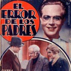 Cine: GUSTAV FROEHLICH : EL ERROR DE LOS PADRES. Lote 58546885