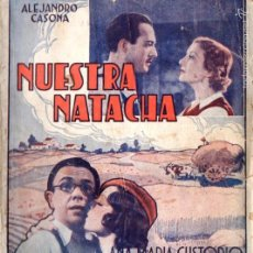 Cine: ALEJANDRO CASONA / RAFAEL RIVELLES / ANA MARÍA CUSTODIO : NUESTRA NATACHA. Lote 58546913