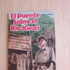 Cine: EL PUENTE SOBRE EL RÍO KWAI. FOTO-FILM DE BOLSILLO AÑO 1959. Lote 61692512