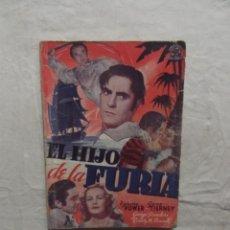 Cine: EL HIJO DE LA FURIA EDICIONES BISTAGNE TYRONE POWER Y GENE TIERNEY. Lote 62062012