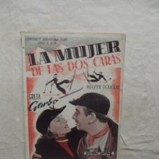 Cine: LA MUJER DE LAS DOS CARAS CON GRETA GARBO Y MELVYN DOUGLAS. Lote 62065376