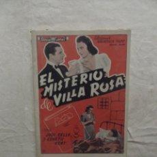 Cine: EL MISTERIO DE VILLA ROSA CON JUDI KELLY Y KENETH KENT. Lote 62143956