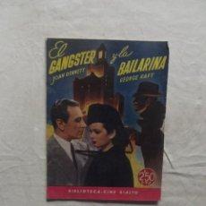 Cine: EL GANGSTER Y LA BAILARINA CON JOAN BENNETT Y GEORGE RAFT . Lote 62146276
