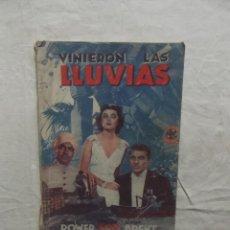 Cine: VINIERON LA LLUVIAS . Lote 62206476