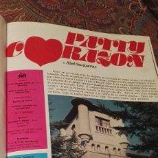 Cinema: FOTONOVELA PATTY CORAZON TOMO COMPLETO-1O CAPITULOS.1975. Lote 175411028