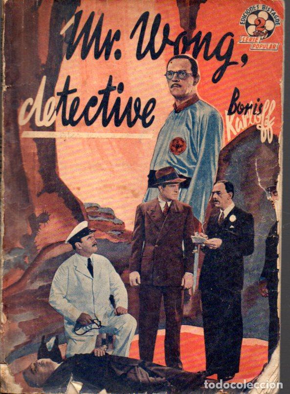 BORIS KARLOFF : MR. WONG, DETECTIVE (BISTAGNE) (Cine - Foto-Films y Cine-Novelas)