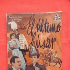 Cine: EL ULTIMO HUSAR, NOVELA EDICIONES BISTAGNE AÑOS 30, C. MONTENEGRO. Lote 64780163