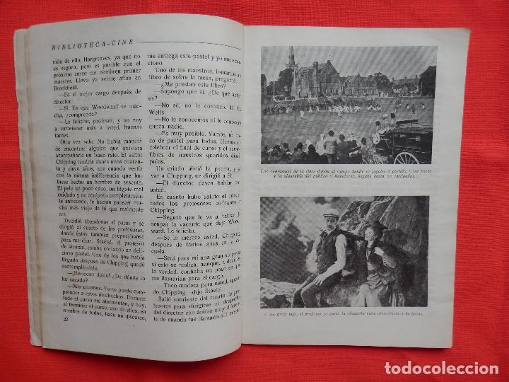 Cine: adios mister chips, novela edic. rialto, robert donat greer garson, 1944 - Foto 3 - 64781371