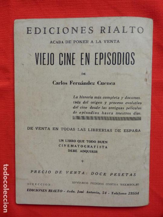 Cine: adios mister chips, novela edic. rialto, robert donat greer garson, 1944 - Foto 4 - 64781371