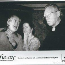 Cinema: FOTOGRAMA DE LA PELICULA - OX ( OXEN - CON LIV ULLMANN Y MAX VON SYDOW DE 1991. Lote 65438422