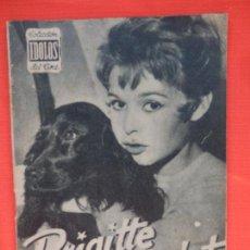 Cine: BRIGITTE BARDOT, REVISTA IDOLOS Nº 34, AÑO 1958. Lote 65781338