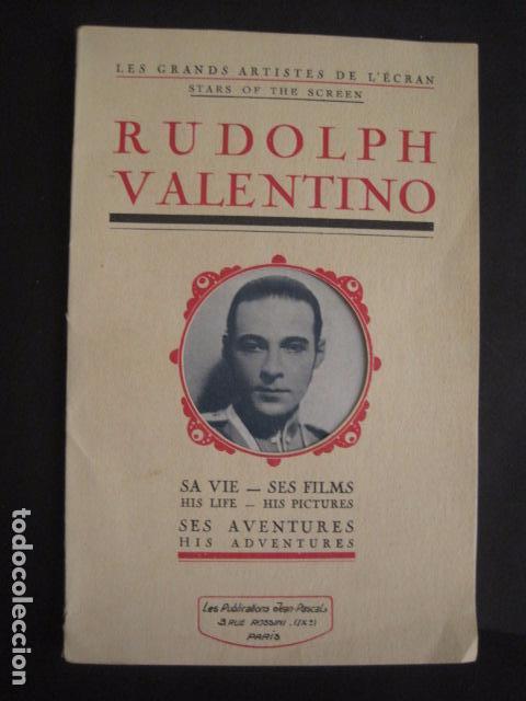 RODOLFO VALENTINO-SUS FILMS - SU VIDA - SU AVENTURA - VER FOTOS - (V- 7294) (Cine - Foto-Films y Cine-Novelas)