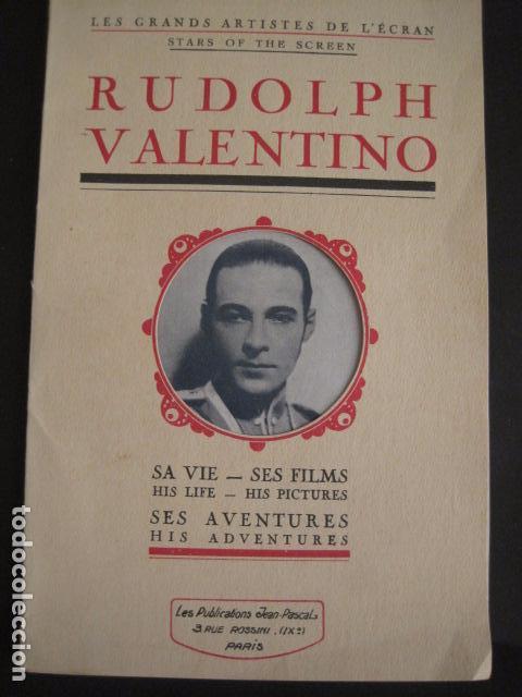 Cine: RODOLFO VALENTINO-SUS FILMS - SU VIDA - SU AVENTURA - VER FOTOS - (V- 7294) - Foto 2 - 65943638