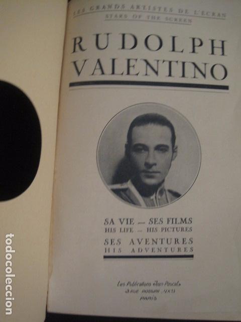 Cine: RODOLFO VALENTINO-SUS FILMS - SU VIDA - SU AVENTURA - VER FOTOS - (V- 7294) - Foto 3 - 65943638