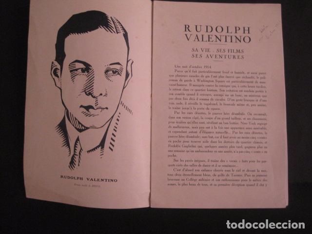 Cine: RODOLFO VALENTINO-SUS FILMS - SU VIDA - SU AVENTURA - VER FOTOS - (V- 7294) - Foto 4 - 65943638