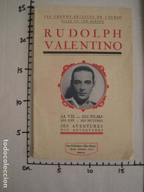 Cine: RODOLFO VALENTINO-SUS FILMS - SU VIDA - SU AVENTURA - VER FOTOS - (V- 7294) - Foto 14 - 65943638