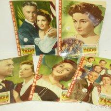 Cine: NOVELA FOTO FILM FOTOFILM LA FAMILIA TRAPP,COMPLETA 5 FASCÍCULOS,FHER 1958. Lote 67034010