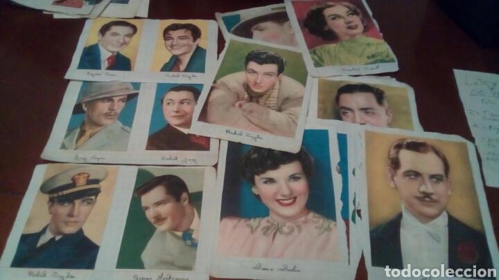 32FOTO CROMOS ACTORES ORIGINALES AÑOS 30 Y 40 (Cine - Foto-Films y Cine-Novelas)