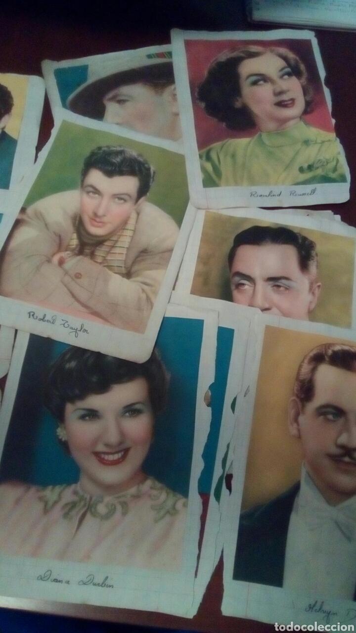 Cine: 32Foto cromos actores originales años 30 y 40 - Foto 2 - 68414406