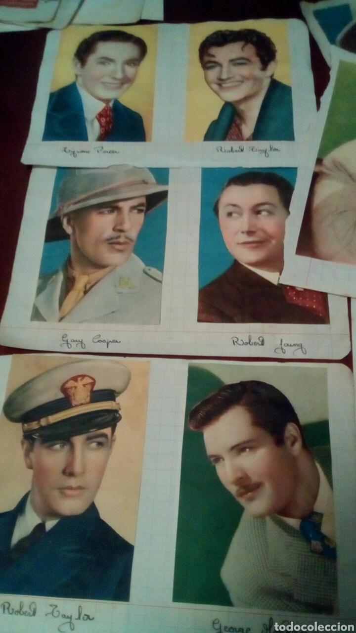Cine: 32Foto cromos actores originales años 30 y 40 - Foto 3 - 68414406