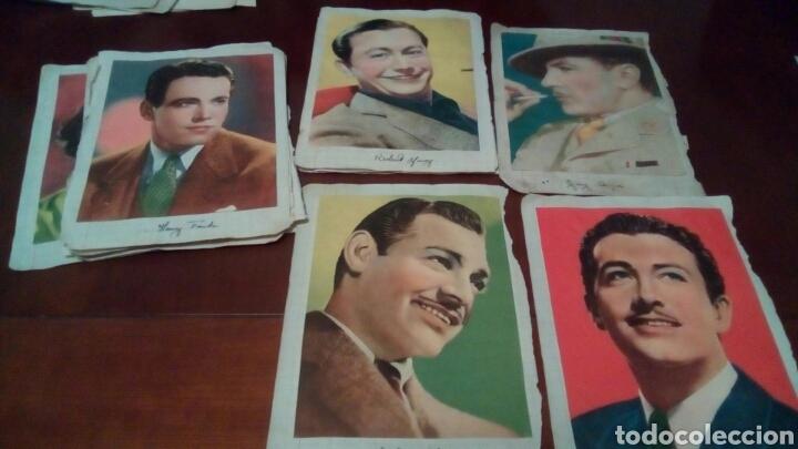 Cine: 32Foto cromos actores originales años 30 y 40 - Foto 5 - 68414406