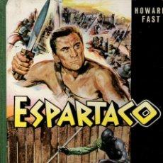 Cine: ESPARTACO - STANLEY KUBRICK (MAUCCI, 1960) CON FOTOS DEL FILM - GRAN FORMATO. Lote 171604623