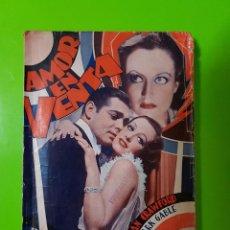 Cine: AMOR EN VENTA (1931) CLARK GABLE Y JOAN CRAWFORD. FILM NOVELADO EN UNAS 50 PGS. RAREZA ÚNICA AQUÍ. Lote 72828487