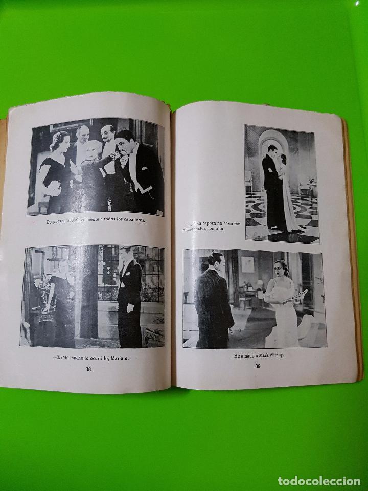 Cine: Amor en Venta (1931) Clark Gable y Joan Crawford. Film Novelado en unas 50 pgs. Rareza única aquí - Foto 5 - 72828487