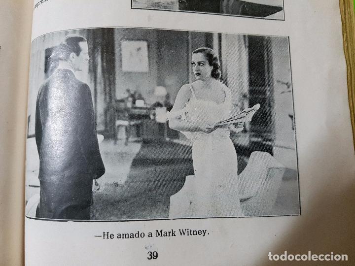 Cine: Amor en Venta (1931) Clark Gable y Joan Crawford. Film Novelado en unas 50 pgs. Rareza única aquí - Foto 6 - 72828487