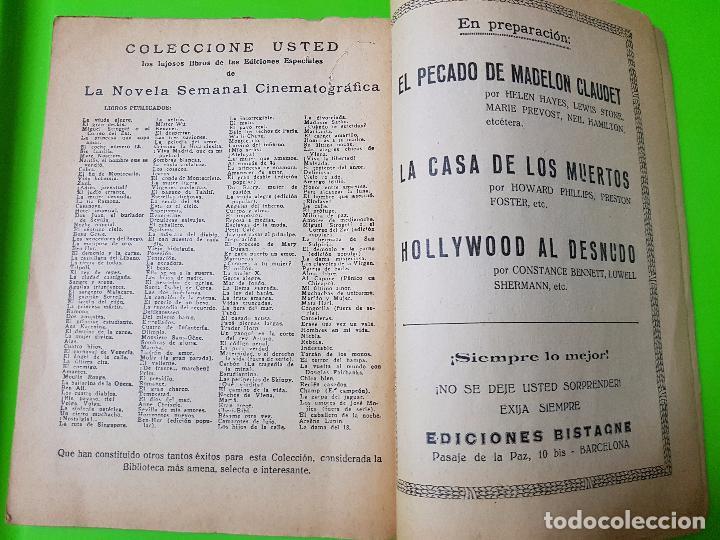 Cine: Amor en Venta (1931) Clark Gable y Joan Crawford. Film Novelado en unas 50 pgs. Rareza única aquí - Foto 7 - 72828487