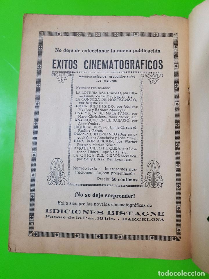 Cine: Amor en Venta (1931) Clark Gable y Joan Crawford. Film Novelado en unas 50 pgs. Rareza única aquí - Foto 8 - 72828487