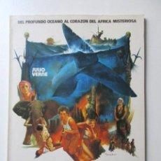 Cine: LOS DIABLOS DEL MAR, JULIO VERNE, DEL PROFUNDO OCEANO AL CORAZON DEL AFRICA MISTERIOSA, 1982. Lote 72926291