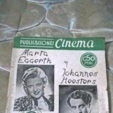 Cine: CONCIERTO EN LA CORTE. MARTA EGGERH / JOHANNES HEESTERS. Lote 74481611