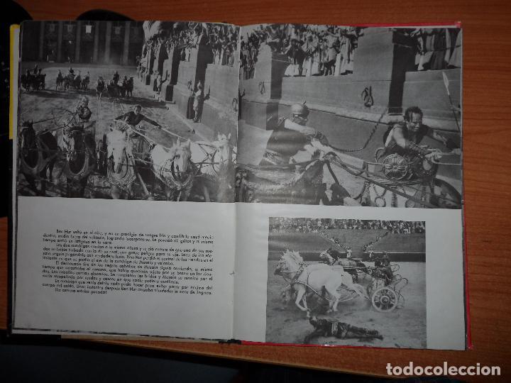 Cine: BEN-HUR - LEWIS WALLACE - EDITORIAL MAUCCI- 1960 (CON IMÁGENES DE LA PELÍCULA) - Foto 2 - 80701510