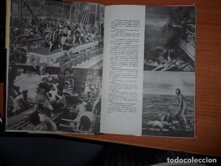 Cine: BEN-HUR - LEWIS WALLACE - EDITORIAL MAUCCI- 1960 (CON IMÁGENES DE LA PELÍCULA) - Foto 3 - 80701510