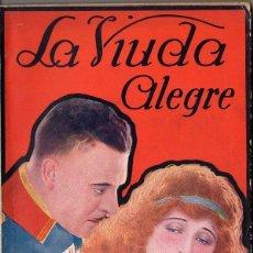 Cine: LA VIUDA ALEGRE (NOVELA SEMANAL CINEMATOGRÁFICA, C. 1930). Lote 81127904