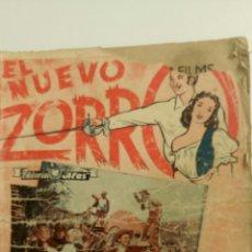 Cine: EL NUEVO ZORRO, CON JOHN CARROLL Y MOVITA.(ORIGINAL AÑOS 50).. Lote 83804667