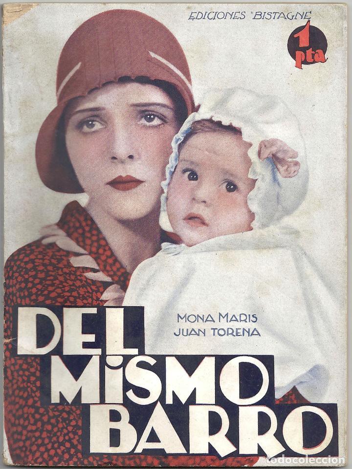XS05 DEL MISMO BARCO MONA MARIS JUAN TORENA NOVELA CON FOTOS EDICIONES BISTAGNE (Cine - Foto-Films y Cine-Novelas)