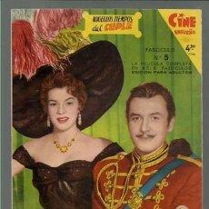 Cine: CINE ENSUEÑO, AQUELLOS TIEMPOS DEL CUPLE, FASCICULO 5 DE 6, 1958, BUEN ESTADO. Lote 86795716