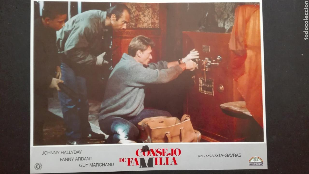 FOTOGRAMA CONSEJO DE FAMILIA FILL DE COSTA GAVRAS CON JOHNNY HALLYDAY (Cine - Foto-Films y Cine-Novelas)