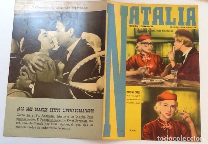 NATALIA, MARINE CAROL, MICHEL PICCOLI, COLECCIÓN GRANDES PELÍCULAS Nº 15 (Cine - Foto-Films y Cine-Novelas)